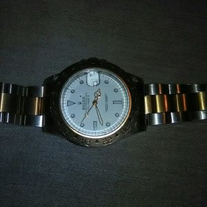 Rolex explorer ii two tone . Needs some work